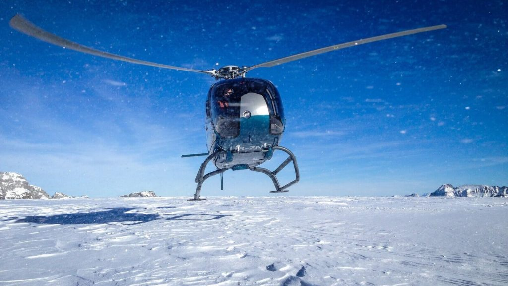 Helikopter Gletscherflug