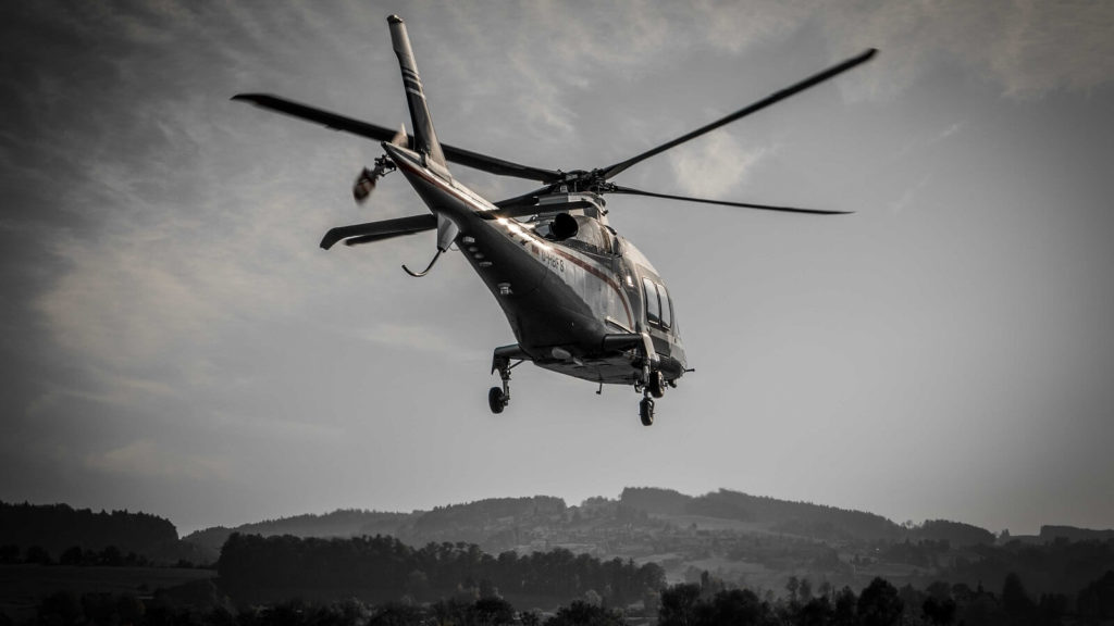 Festival Schweiz Helikopterflug