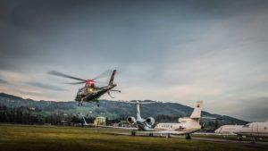 Helikopterflug VIP Geschäftsflüge
