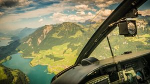 Privater Helikopterflug