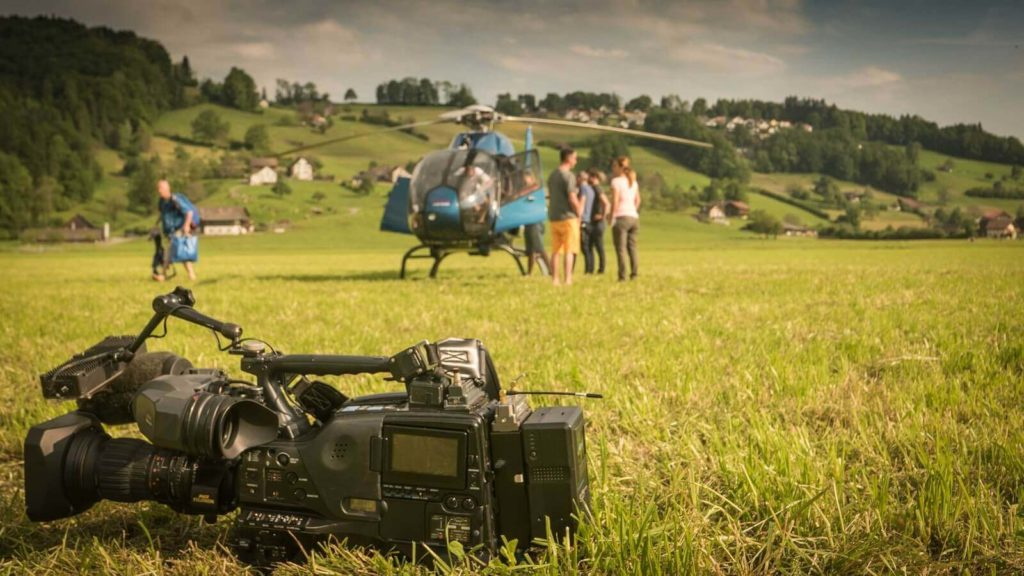 Helikopter Film- und Footoshooting