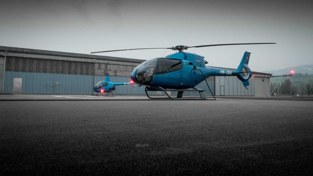 Helikopter Transportflug