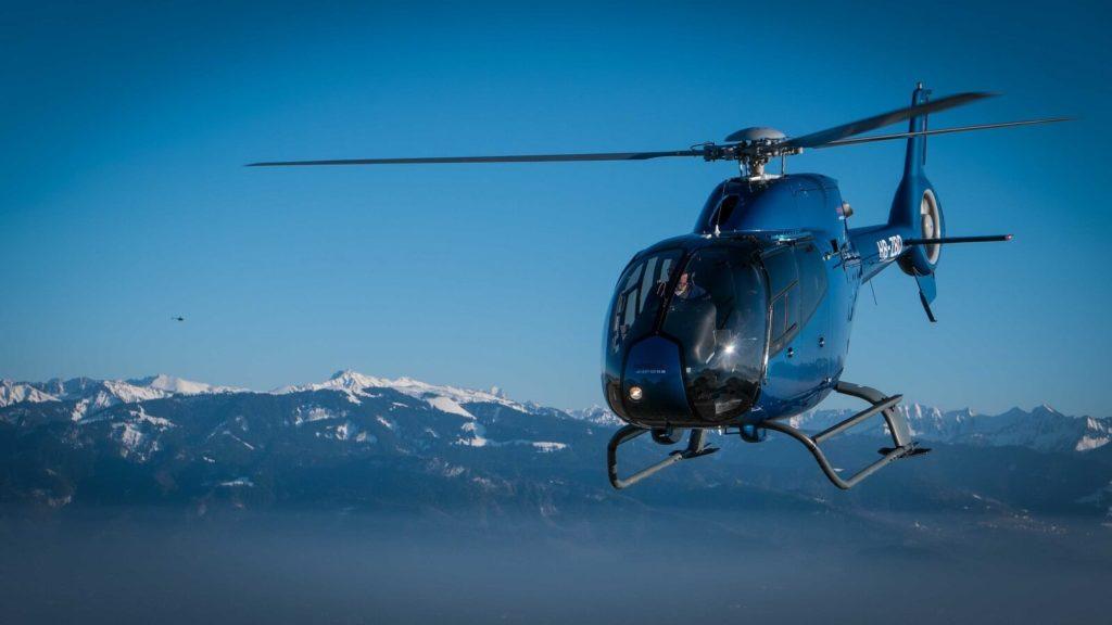 Helikopter Taxiflug