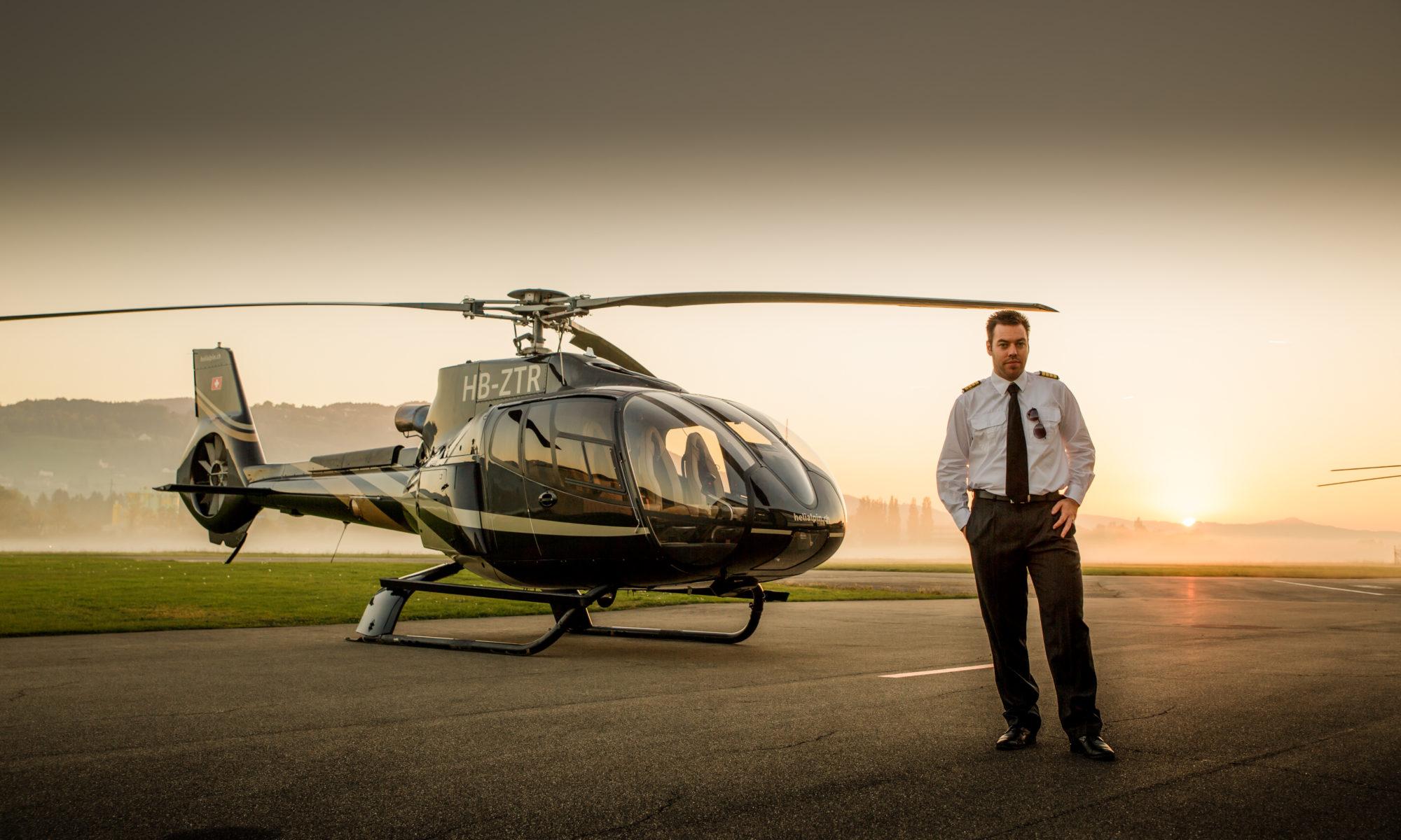 VIP Helikopterflug - Flightbase